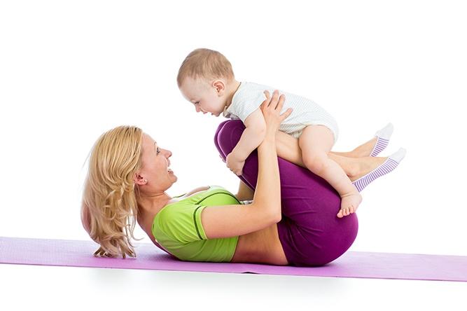 Como retomar a boa forma após a gravidez